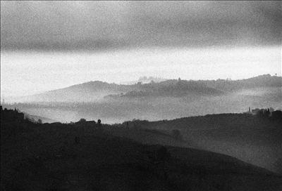 Early morning from San Gimignano  1