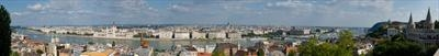 Budapest, 180˚ Panoramic view from The Bastion