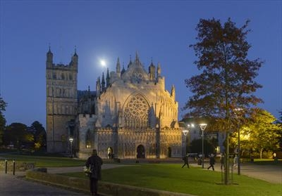 gc15 exeter cathedral under moonlight_DSC1576