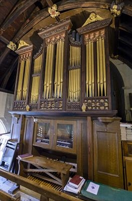 gc66 st. mary's church, dunsford, organ 12556