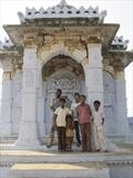 Guardians of the tomb, Bhuj, Gujerat by Jan Traylen, Photography, Giclée printed photograph on textured paper
