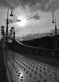 Liberty Bridge, Budapest by Jan Traylen, Photography, Giclée printed photograph on textured paper