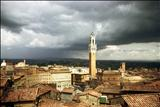 Siena storm clouds by Jan Traylen, Photography, Giclee print from Kodachrome