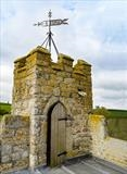 gc55 dunsford, st.mary's, windvane,  5x7  12585 by Jan Traylen, Photography