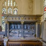 gc67 fulford family tomb, st mary's, dunsford, (square) by Jan Traylen, Photography
